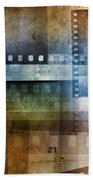 Film Negatives Beach Towel