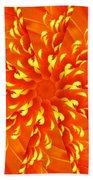 Floral Sunrise Beach Towel