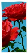 Forests Flowers Beach Towel
