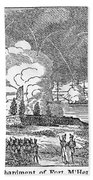 Fort Mchenry, 1814 Beach Towel