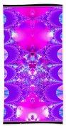Fractal 16 Purple Passion Beach Towel