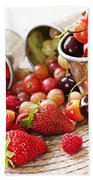 Fruits And Berries Beach Towel