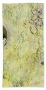 Fumarole Deposits In The Dallol Beach Towel
