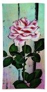Garden Rose Beach Towel