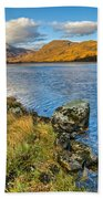Glen Gour View Beach Towel