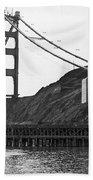 Golden Gate Bridge Work Beach Towel