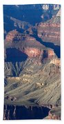 Grand Canyon Shadows Beach Towel