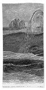 Greenland Whale Beach Towel