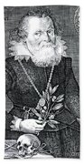 Gregor Horstius, German Physician Beach Towel by Science Source
