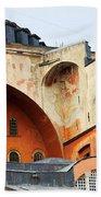 Hagia Sophia Byzantine Architecture Beach Sheet