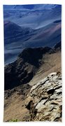 Haleakala Crater Beach Towel