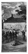Harpers Ferry Insurrection, 1859 Beach Towel