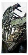 Harvey Neelon Shipwreck So They Say... Beach Towel