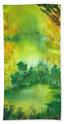 Hidden Pond Beach Towel