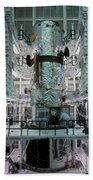 Hubble Space Telescope Beach Towel by NASA/Science Source