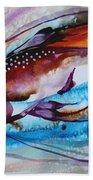 Hurricane Fish 28 Beach Towel