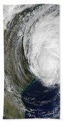Hurricane Lili Beach Towel