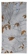Ironwood In The Snow Beach Towel
