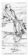 Isaac Disraeli (1766-1848) Beach Towel
