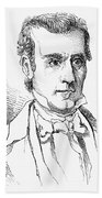 James K. Polk (1795-1849) Beach Towel