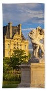 Jardin Des Tuileries Beach Towel