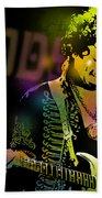 Jimi Hendrix Beach Sheet