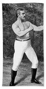 John L. Sullivan (1858-1918) Beach Towel