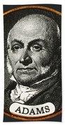 John Quincy Adams, 6th American Beach Towel