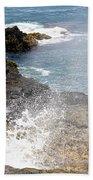 Kauai Spray Beach Towel