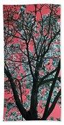 Kimono Pink Beach Towel