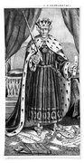 King Andrew The First Beach Towel