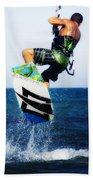 Kitesurfer Beach Towel