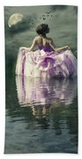 Lady In The Lake Beach Towel