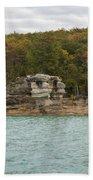 Lake Superior Pictured Rocks 49 Beach Towel
