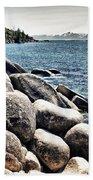 Lake Tahoe Vista Beach Towel