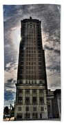 Liberty Building Beach Towel