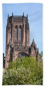 Liverpool Anglican Cathedral Beach Towel