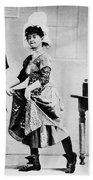 Lotta Crabtree (1847-1924) Beach Towel