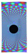Magnetic Fields Beach Towel