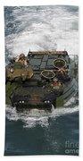 Marines Navigate An Amphibious Assault Beach Towel