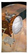 Mars Telecommunications Orbiter Beach Towel