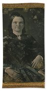 Mary Todd Lincoln, First Lady Beach Towel by Photo Researchers