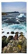 Melting Iceberg Beach Towel