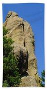 Mica Rock In The Black Hills Beach Towel