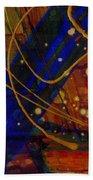 Mickey's Triptych - Cosmos I Beach Towel