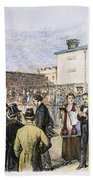 Molly Maguires Executions Beach Towel