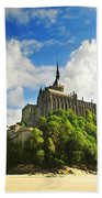 Mont Saint Michel Beach Towel