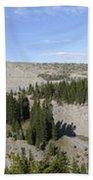 Mount Hood Pano Beach Sheet
