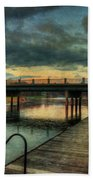 Napanee Harbour  Beach Towel
