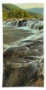 New River Waterfall Beach Towel